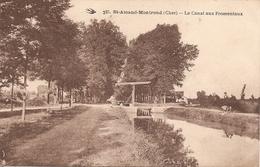 18 Cher  : St Amand Montrond Le Canal Aux Fromentaux   Réf 4200 - Saint-Amand-Montrond