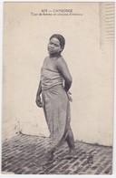 Asie - Cambodge - Type De Femme En Costume D'intérieur - Cambodge