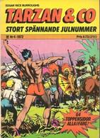 Tarzan & Co N° 4 - (In Swedish) Williams Förlags - 1972 - Burne Hogarth & Bob Lubbers - BE - Langues Scandinaves