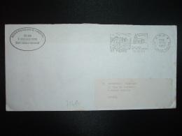 LETTRE PORT PAYE OBL.MEC.12-12 1989 PP 975 SAINT PIERRE - Lettres & Documents