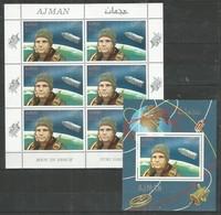 AJMAN - MNH - Space - Gagarin - Autres