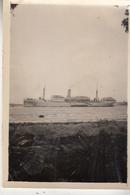"""Le """"Thysville"""" Dans Le Port De Lagos -  Photo Originale Format 6 X 9 Cm - Bateaux"""