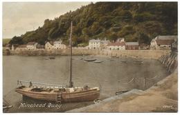 Minehead Quay Unused C1936 - Frith's - Minehead