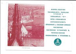Buvard Ancien Produits Pharmaceutiques - LABORATOIRES LOGEAIS - Ile St LoUIS - Chemist's