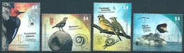 Argentina (2013) Yv. 2992/95   /  Aves - Birds - Oiseaux - Vogel - Pájaros