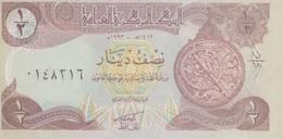 (B0355) IRAQ, 1993. ½ Dinar. P-78b. UNC - Iraq