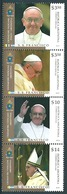 Argentina (2013) Yv. 2987/90   /   Pope Francis - Papa - Francisco - Francesco - Vatican Joint Issue - Pausen