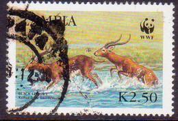 ZAMBIA 1987 SG #539 2k.50 Used Black Lechwe - Zambia (1965-...)