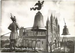 X2366 Orvieto (Terni) - Il Duomo Visto Dalla Torre Di Maurizio / Non Viaggiata - Autres Villes