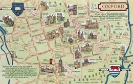 CARTOLINA - POSTCARD - REGNO UNITO - OXFORD - Oxford