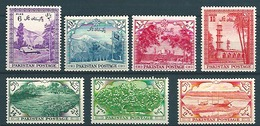 Pakistan (1954) Yv. 65/71  / - Pakistan