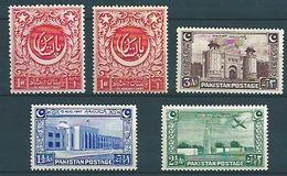 Pakistan (1948) Yv. 20/23  / - Pakistan