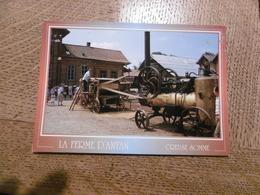 D 80 - La Ferme D'antan - Creuse - La Locomotive à Vapeur - Autres Communes