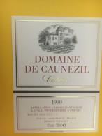 8334 - Domaine De Caunezil 1990 Cahors - Cahors