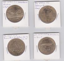 Lot De 4 Médailles  2016 -2015-2014-2009 - Monnaie De Paris