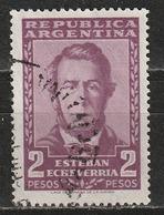 Argentina 1957 - Esteban Echeverría - Autori   Letterati (Poeti E Scrittori)   Letteratura   Persone Famose   Uomini - Argentina