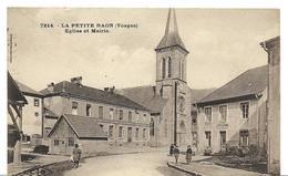 ~ JP ~ 88 ~    LA PETITE RAON      ~   église Et Mairie - France