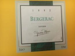8338 - Sauvignon 1992 Yvon Mau Bergerac - Bergerac