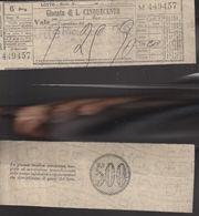 16770)SC1 GIOCO DEL LOTTO GIOCATA DA LIRE 500 1975 TERNO - Lottery Tickets
