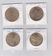 Lot De 4 Médailles   2011-2012 -2009 - Monnaie De Paris
