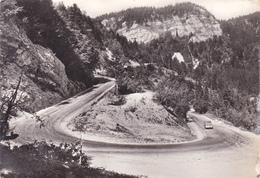 La Route Blanche Paris Genève,route De Gex Au Col De La Faucille,altitude 1323m,édition Rare Michaux,bellegrade,ain,rare - Gex