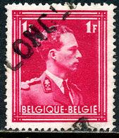 Belgique COB 428 Longlier - Marcofilia