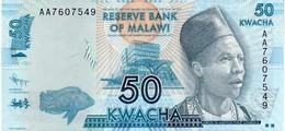 Malawi P.58a 50 Kwacha 2012  Unc - Malawi
