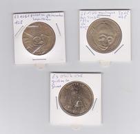 Lot De 3 Médailles   -2010 -2009-2012 - Monnaie De Paris
