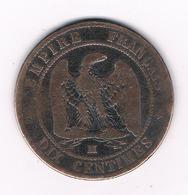 10 CENTIMES 1856 M FRANKRIJK /2879G/ - France