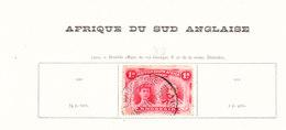 AFRIQUE DU SUD ANGLAIS Timbres Anciens Sur Feuille D Album - Autres