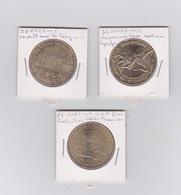 Lot DE 3 Medailles 2011 - Monnaie De Paris