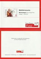 Carnet Booklet - Dalai Lama - Neue Presse Post - 2014 - [7] Federal Republic