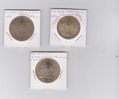 Lot DE 3 Medailles  2008-2010-2011 - Monnaie De Paris