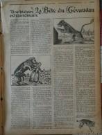 1931 Journal A LA PAGE - LA BETES DU GÉVAUDAN - LA BANLIEU ROUGES - L'AFRIQUE OCCIDENTALE FRANCAISE - OMBRELLES PEINTES - Books, Magazines, Comics