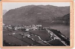 ZELL Am See Und Steinernes Meer Pappfoto 10,6x16,6 Cm 1896 Verlag Römmler & Jonas Dresden TOP-Erhaltung - Zell Am See