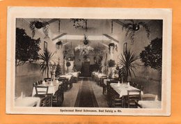 Bad Salzig Hotel Schwanen 1910 Postcard - Boppard