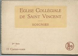 Soignies Pochette 2e SERIE COMPLETE De 13 Cartes !!! - Soignies