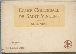 Soignies Pochette 1ere SERIE COMPLETE De 13 Cartes !!! - Soignies