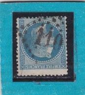 N° 29 B   GC  110  ANNECY  /  HAUTE SAVOIE  - REF 12219 + PIQUAGE - 1863-1870 Napoleon III With Laurels