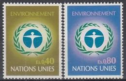 UNITED NATIONS Geneva 25-26,unused - Geneva - United Nations Office