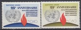 UNITED NATIONS Geneva 35-36,unused - Geneva - United Nations Office