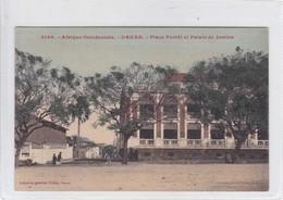 AFRIQUE OCCIDENTALE. DAKAR. PLACE PROTET ET PALAIS DE JUSTICE. COLLECTION GENERALE FORTIER. SENEGAL.-BLEUP - Senegal