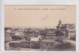 AFRIQUE OCCIDENTALE. SENEGAL. DAKAR. VUE PRISE DE L'HOSPITAL. COLLECTION GENERALE FORTIER.-BLEUP - Senegal
