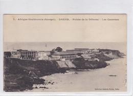AFRIQUE OCCIDENTALE. SENEGAL. DAKAR. POINTE DE LA DEFENSE. LES CASERNES. COLLECTION GENERALE FORTIER.-BLEUP - Senegal