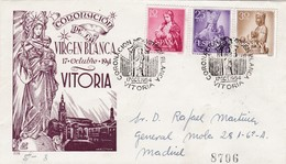 Coronacion De La Virgen Blanca, Vitoria, Carta Certificada - Cristianismo