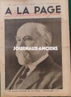 1934 Journal A LA PAGE - MORT DU PRÉSIDENT POINCARÉ - ALEXANDRE  1er Et LOUIS BARTHOU ASSASSINÉS À MARSEILLE - AVIATION - Books, Magazines, Comics