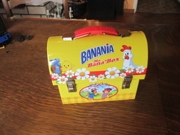 CB84 Boite En Tôle Banania, 14 X 11 X  6,5 Cm - Chocolate
