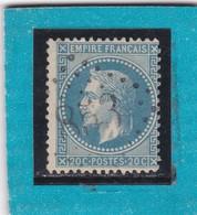 N° 29 B   GC  853  CHAMONIX  / HAUTE  SAVOIE  - REF 12219  IND 7 + PIQUAGE - 1863-1870 Napoléon III Lauré