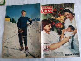 FRANCE URSS Magazine N°126 MARS 1956 OU VA L URSS  XX CONGRESLE PROFESSEUR LAMAZE, L ACCOUCHEMENT SANS DOULEUR - General Issues
