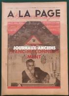 1934 LA FRANC MACONNERIE - SCOUT DE FRANCE - CIMES - BASKET PLAISSANCE - FLEURS ( LOIRE ) BASKET - Books, Magazines, Comics